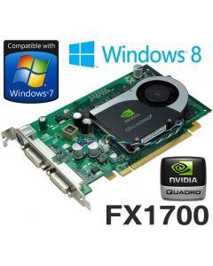 Dell nVidia Quadro FX 1700 512MB PCI-Express Dual DVI Graphics Card RN034 0RN034
