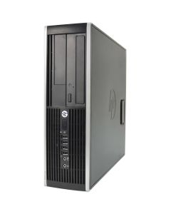 HP Elite 8300 SFF Quad Core i5-3470 3.20GHz 8GB 500GB DVD WiFi Windows 10 Professional Desktop PC Computer