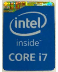 Genuine Intel Core i7 Inside Case Badge Sticker (4th Generation)