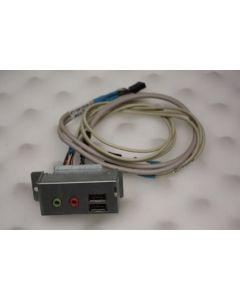 Acer Aspire T650 USB Audio Port Panel 2JB22-026