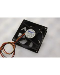 Akasa DFS802512L 3Pin Case Fan 80mm x 25mm