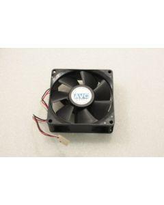 AVC F8025B12UA 80mm x 25mm 3Pin Case Fan