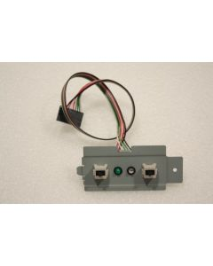 Dell PowerEdge 600SC Power Button LED Lights