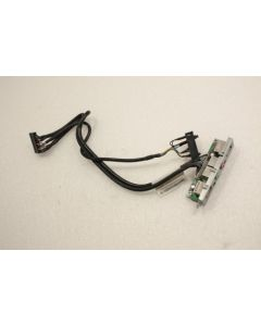 Lenovo Thinkcentre M58 USFF USB Audio Board LED Power Button Cable 43N9078