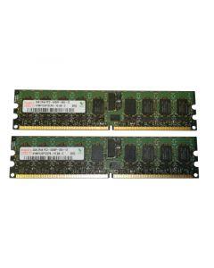 4GB (2x 2GB) HYMP125P72CP8-Y5 AB-C Hynix PC2-5300P 667MHZ ECC Registered RAM
