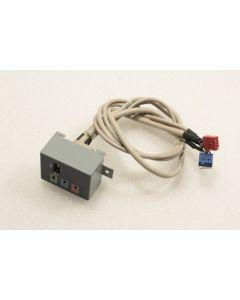 HP Pavilion t000 Front USB Firewire Panel Ports 22-11299-01