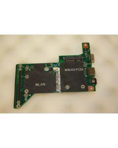 Dell Vostro 1400 USB S-Video VGA Ports Board 08G20EA05001DE