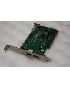 3 Port FireWire PCI Adapter Card SD010-D82