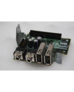 Dell OptiPlex GX520 GX620 Front I/O USB Panel KJ257