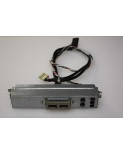 HP Proliant ML150 G3 Power Button USB Ports Panel 405270-001