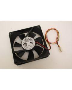 T&T 9225H12S Case Fan 3Pin 90mm x 25mm
