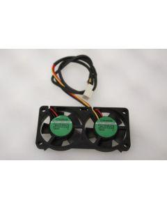 Sunon KD1204PFV2 Case Cooling Twin Fan 3Pin