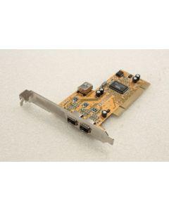 VIA F008-62 3 Firewire Ports PCI Adapter Card