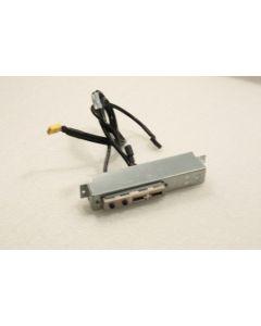 HP Compaq dc5100 MT dx6100 MT USB Audio Ports Panel 384747-002 C1-360138