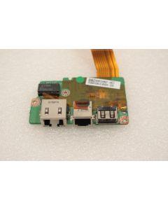 Toshiba Satellite Pro U400 Modem Ethernet USB Port Board DA0BU2TH8D0