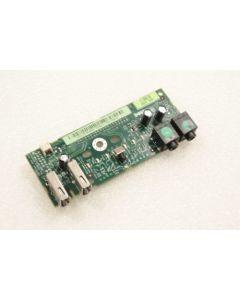 Dell Precision 390 I/O USB Audio Power Button Board FK463 FJ470