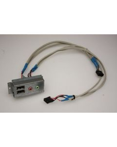 Acer Aspire T630 Front USB Audio Board Panel  & Cables 2J017-003A