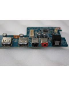 Sony Vaio VGX-TP Series Back USB Audio Ports Panel Board 1P-1076102-4010