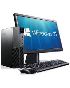 Complete set of Windows 10 Quad Core i5 WiFi Desktop PC Computer
