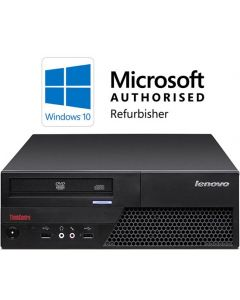 Lenovo ThinkCentre M58 Core 2 Duo 2.53-2.93GHz 4GB 160GB DVD Windows 10