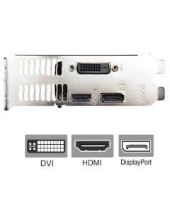 MSI GTX 1650 Full Height Bracket for Video Graphics Card DVI HDMI DisplayPort