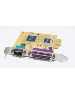 Sunix MIO5469A Dell GP385 PCI-e Serial Parallel Card
