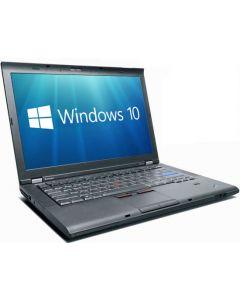 Lenovo ThinkPad T410i i5-430M 2.26GHz 4GB 320GB DVDRW WebCam WiFi Windows 10 Professional