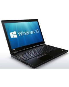 """Lenovo ThinkPad L560 Laptop PC - 15.6"""" HD Intel 3855U 8GB 128GB SSD WebCam WiFi Windows 10 Professional 64-bit"""