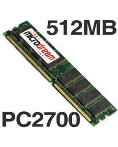 512MB PC2700 333MHz DDR 184Pin NON-ECC Desktop PC Memory RAM