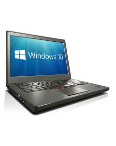 "Lenovo ThinkPad X250 Ultrabook 12.5"" HD Display Core i3-5010U 8GB 256GB SSD WiFi WebCam Windows 10 Professional 64-bit"