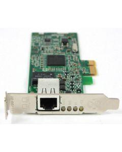 Dell YJ686 Broadcom 10/100/1000 Gigabit Low profile PCI-E Network Card BCM95721A211