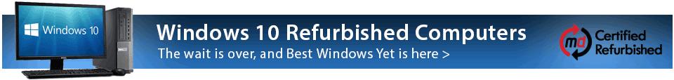 Windows 10 Refurbished Computers