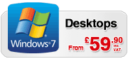 Windows 7 Desktop PC Deals