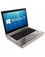 "HP EliteBook 8470p 14.1"" Core i5-3320M 8GB 128GB Solid State Drive WebCam USB 3.0 Windows 10 Professional 64-bit"