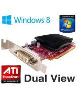 AMD FirePro 2270 512MB PCI-e DMS-59 Low Profile Dual Display Graphics Card