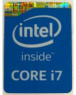 Genuine Intel Core i7 Inside Case Badge Sticker (4th Generation)