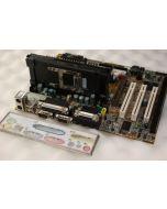 MSI MS-6156 MS6156 Slot 1 ISA Motherboard Pentium III 450MHz Processor SL364