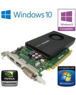 nVidia Quadro K2000 2GB GDDR5 PCI-E Dual DisplayPort DVI Graphics Card 00JHRJ