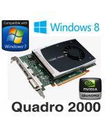 nVidia Quadro 2000 1GB DDR5 PCI-E Dual DisplayPort DVI Professional Graphics Card