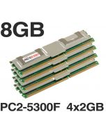 8GB (4x2GB) DDR2 PC2-5300F 667MHz MEMORY RAM Apple Mac Pro 2006 2008