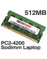 512MB PC2-4200 533MHz 200Pin DDR2 Sodimm Laptop Memory RAM