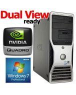 Dell Precision T3400 Workstation Core 2 Duo E6850 3.0GHz 4GB Windows 7 Professional 64bit