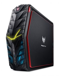 VR Ready 4K Gaming PC, Acer Predator G1-710 Intel Core i7-7700, GeForce GTX 1080, 32GB DDR4, 512GB SSD, 4TB HDD, DVD, WiFi, BT, Win 10 Home (Renewed)