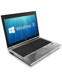 "HP EliteBook 2570p 12.5"" Core i5-3210M 8GB 256GB SSD DVD WiFi WebCam Windows 10 Professional Laptop"