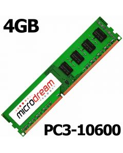 4GB RAM DDR3 PC3-10600 1333MHz DIMM 240Pin CL9 NON-ECC Desktop PC Memory