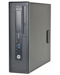 HP EliteDesk 800 G1 SFF Quad Core i5-4570 3.20GHz 8GB 1TB DVDRW WiFi Windows 10 Professional Desktop PC Computer