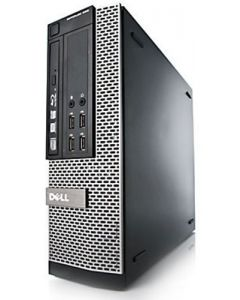 Dell OptiPlex 9010 SFF 3rd Gen Quad Core i5-3470 4GB 250GB Windows 10 Professional Desktop PC Computer