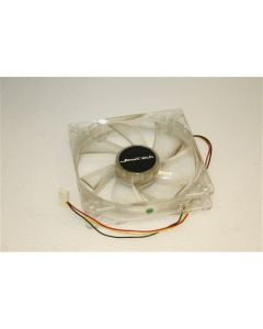 Jeantech Blue LED 120mm x 25mm 3-Pin Case Cooling Fan