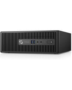 HP ProDesk 400 G3 SFF Desktop PC - 6th Gen Intel Quad Core i5-6500 3.2GHz 8GB DDR4 500GB DVDRW USB 3.0 WiFi Windows 10 Professional