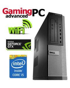 Gaming PC Dell OptiPlex Quad Core i5-2400 16GB 480GB SSD GTX 1050 Ti WiFi Windows 10 64-Bit Desktop PC Computer